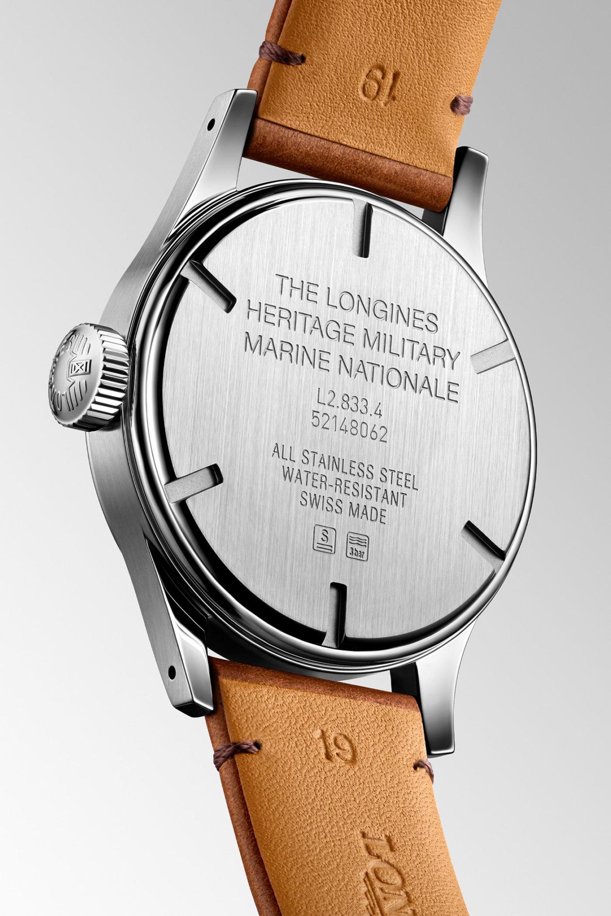 Longines Heritage Military Marine Nationale