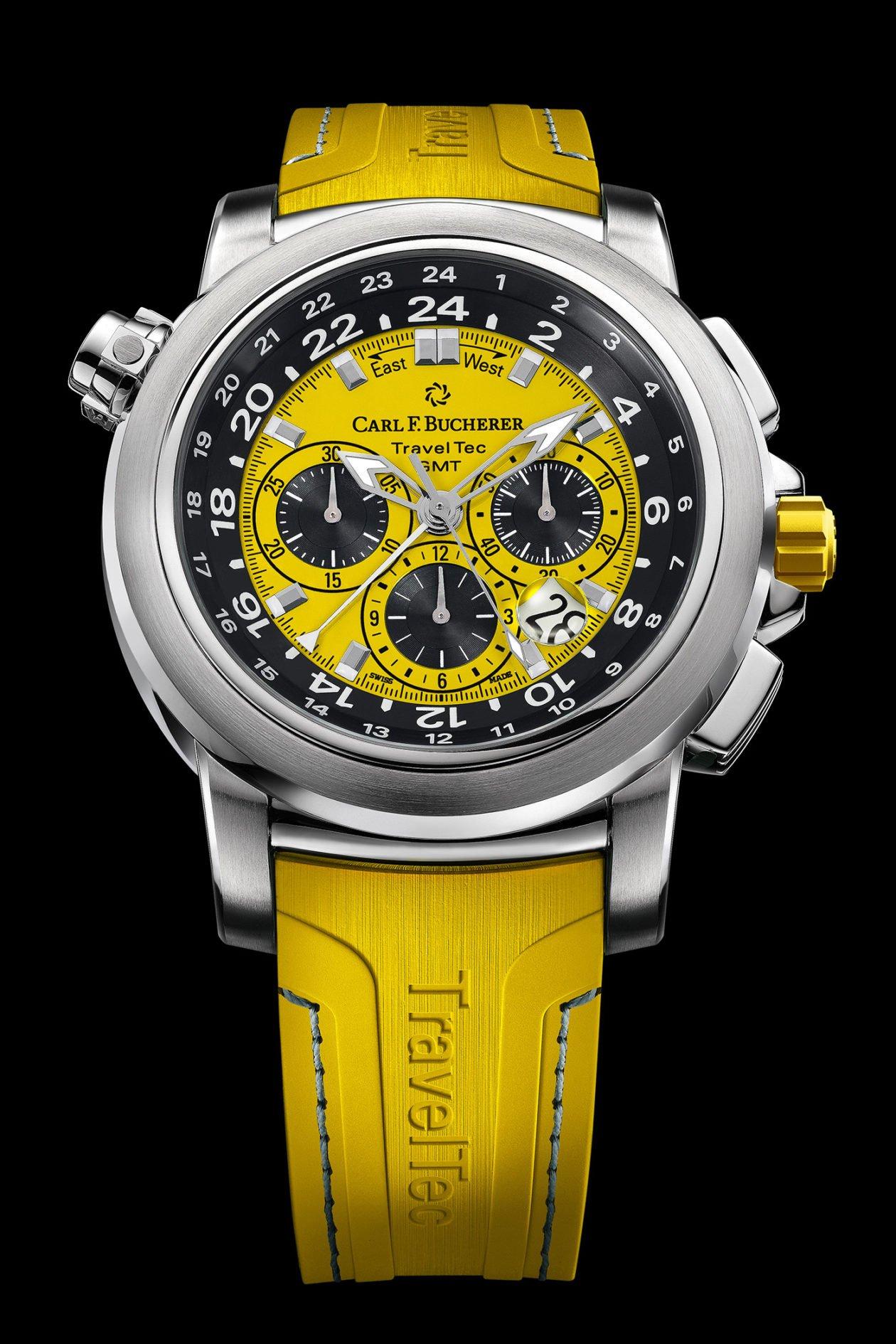 "Carl F. Bucherer Patravi TravelTec ""Yellow"""