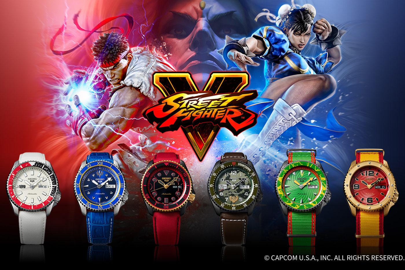 Seiko 5 Sports x Street Fighter V [dostępność, cena]