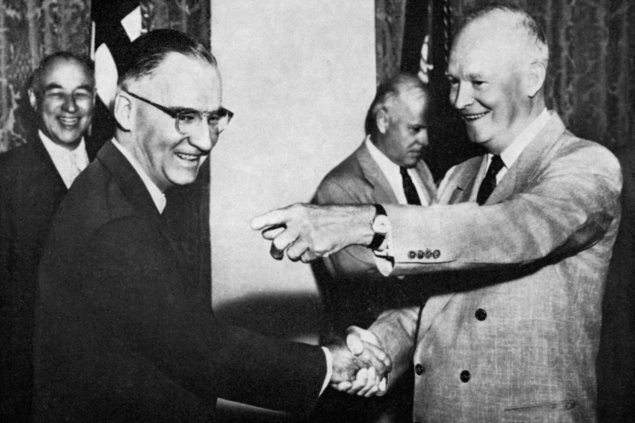 Dwight Eisenhower i Vulcain Cricket
