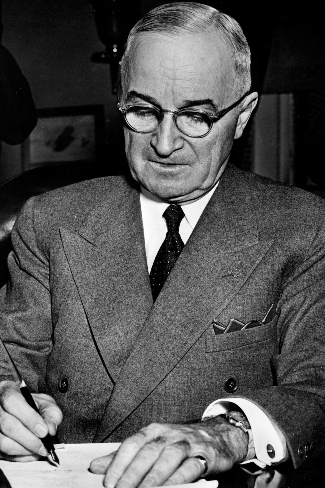 Harry Truman i jego Vulcain Cricket
