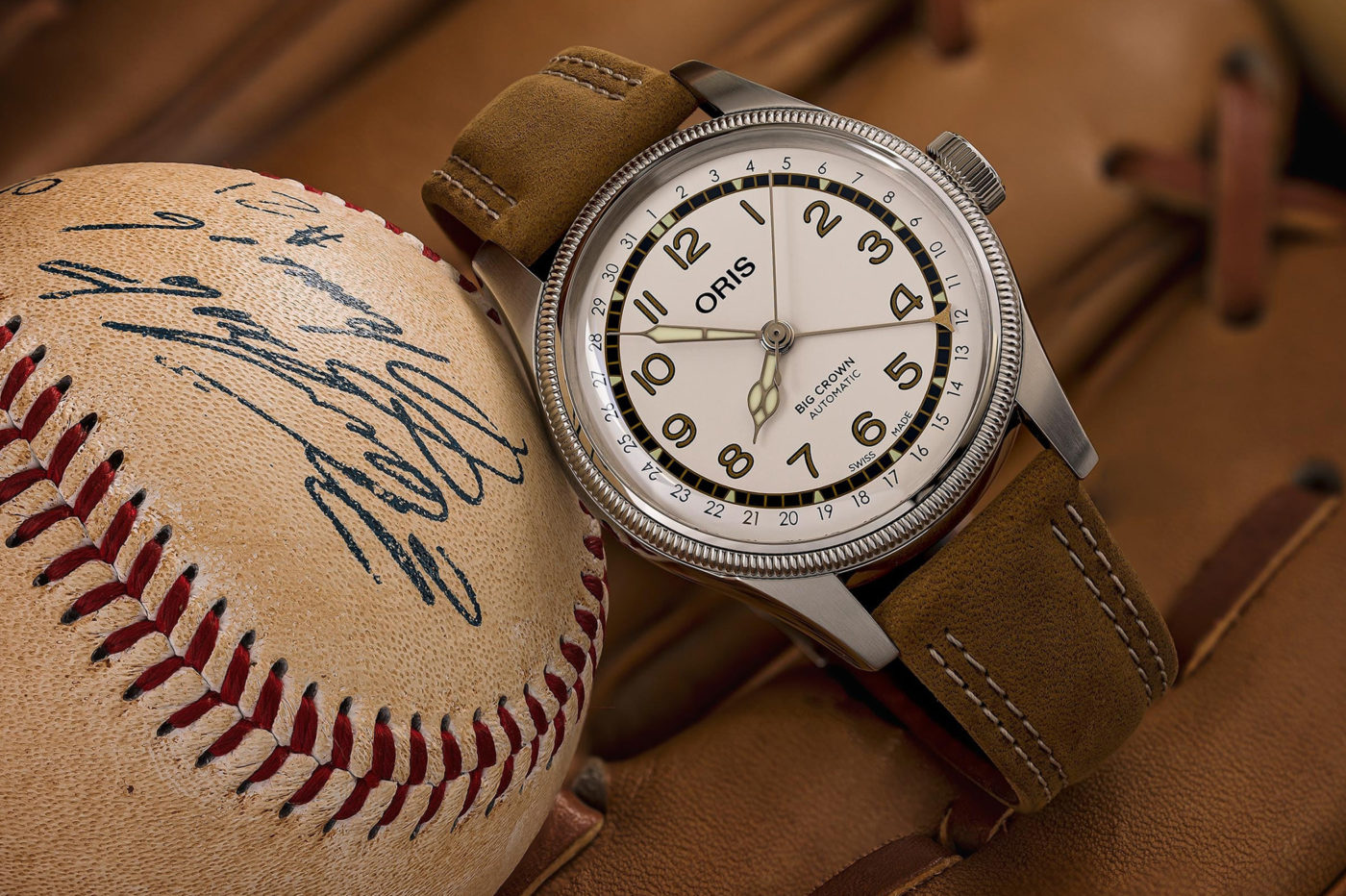 Oris Big Crown Pointer Date Roberto Clemente Limited Edition