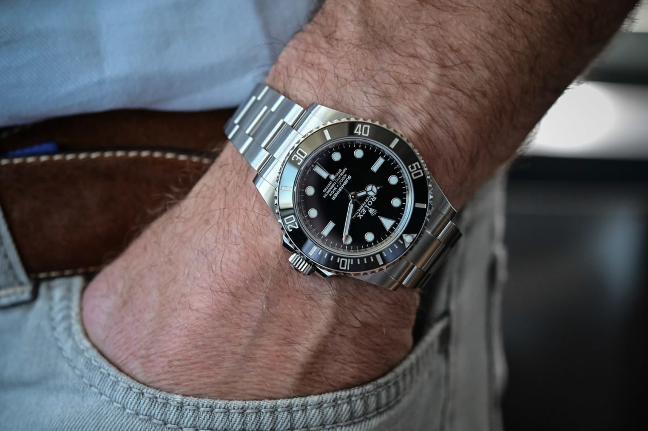 Rolex Submariner 41mm Ref. 124060 / foto: Brice Goulard - monochrome-watches.com