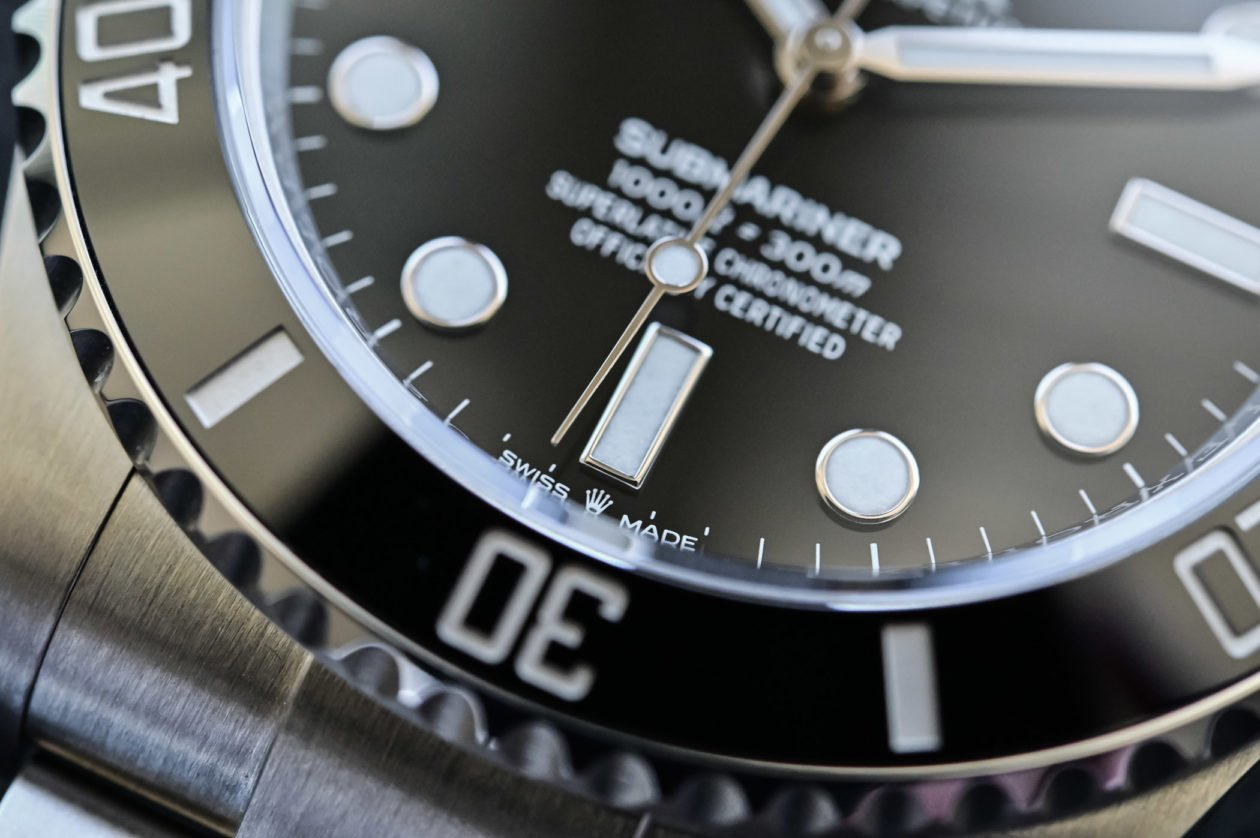 Rolex 124060 / foto: Brice Goulard - monochrome-watches.com