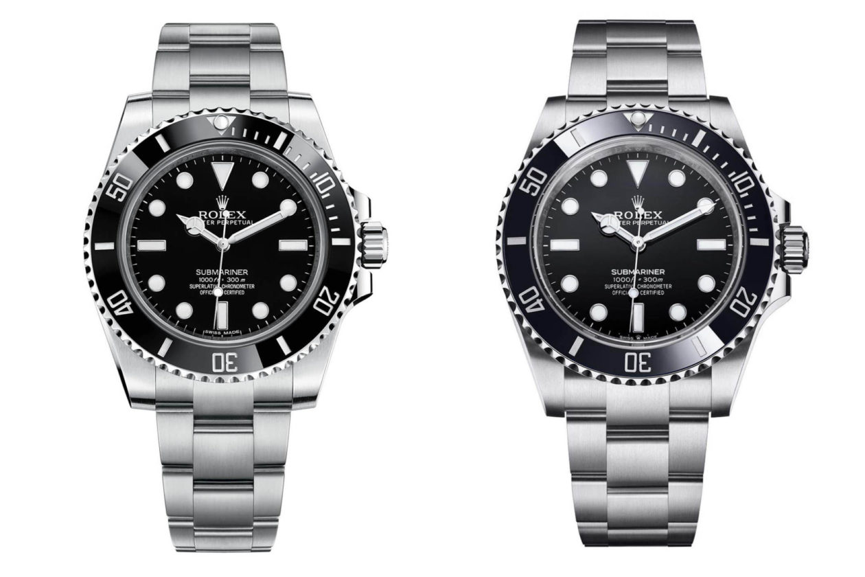 Rolex Submariner - Ref. 114060 vs 124060