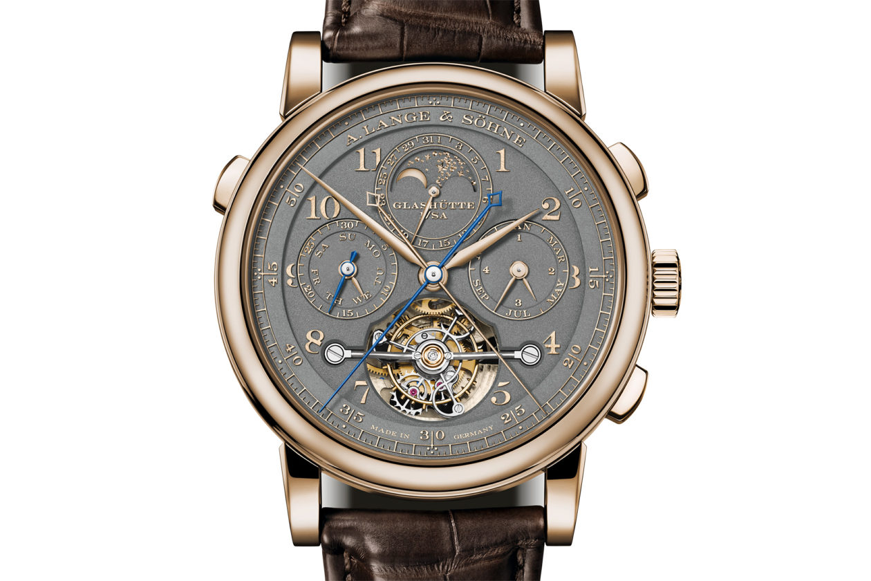 "A. Lange & Söhne 1815 Tourbograph Perpetual Honeygold ""Homage to F. A. Lange"""