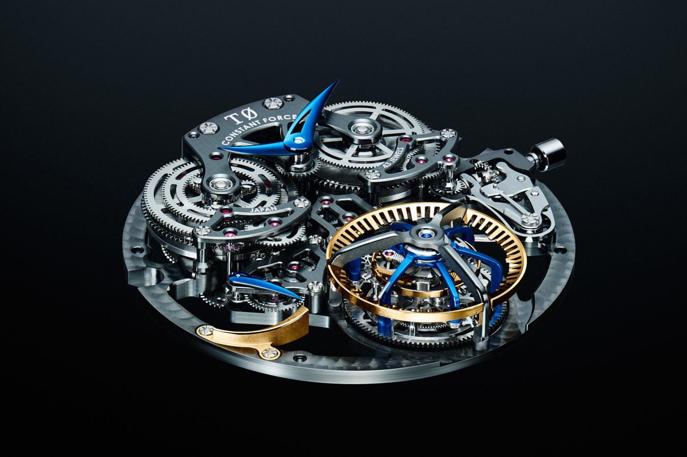 Grand Seiko T0 Constant-force Tourbillon – mechanizm koncepcyjny
