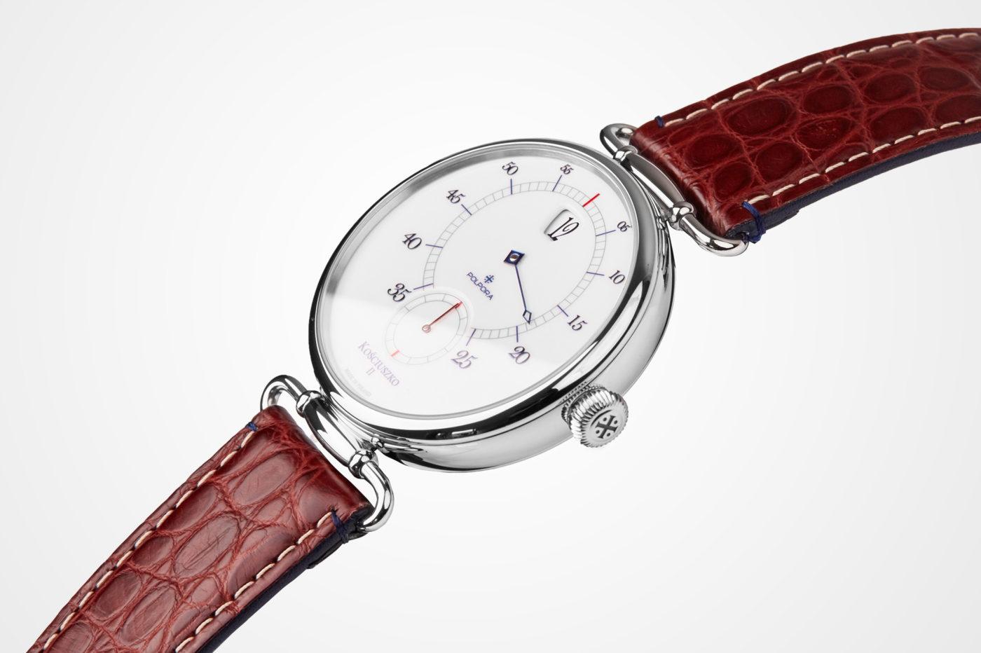 Polpora Kościuszko II – zegarek ze skaczącą godziną [cena]