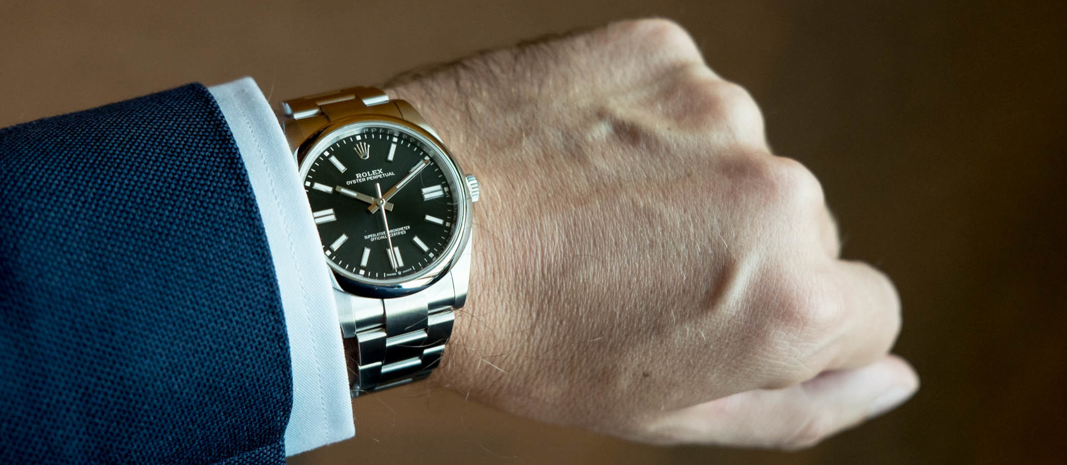 Rolex Oyster Perpetual 41 mm - Ref. 124300