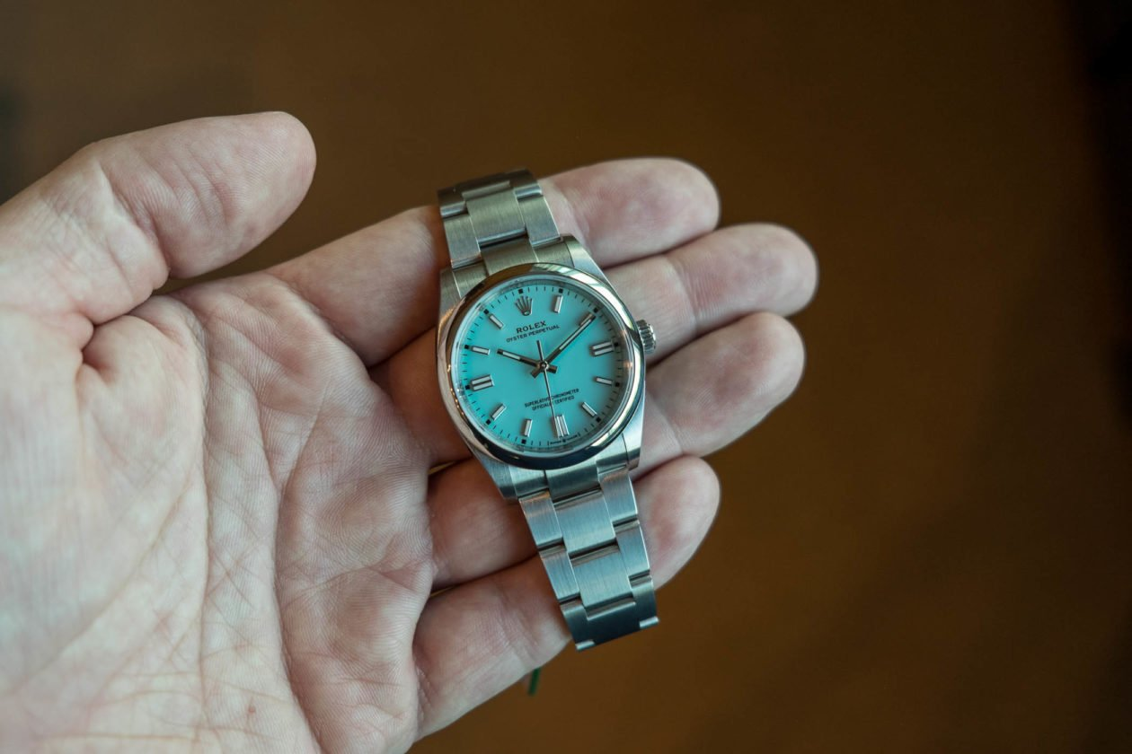 Rolex Oyster Perpetual 36 mm - Ref. 126000