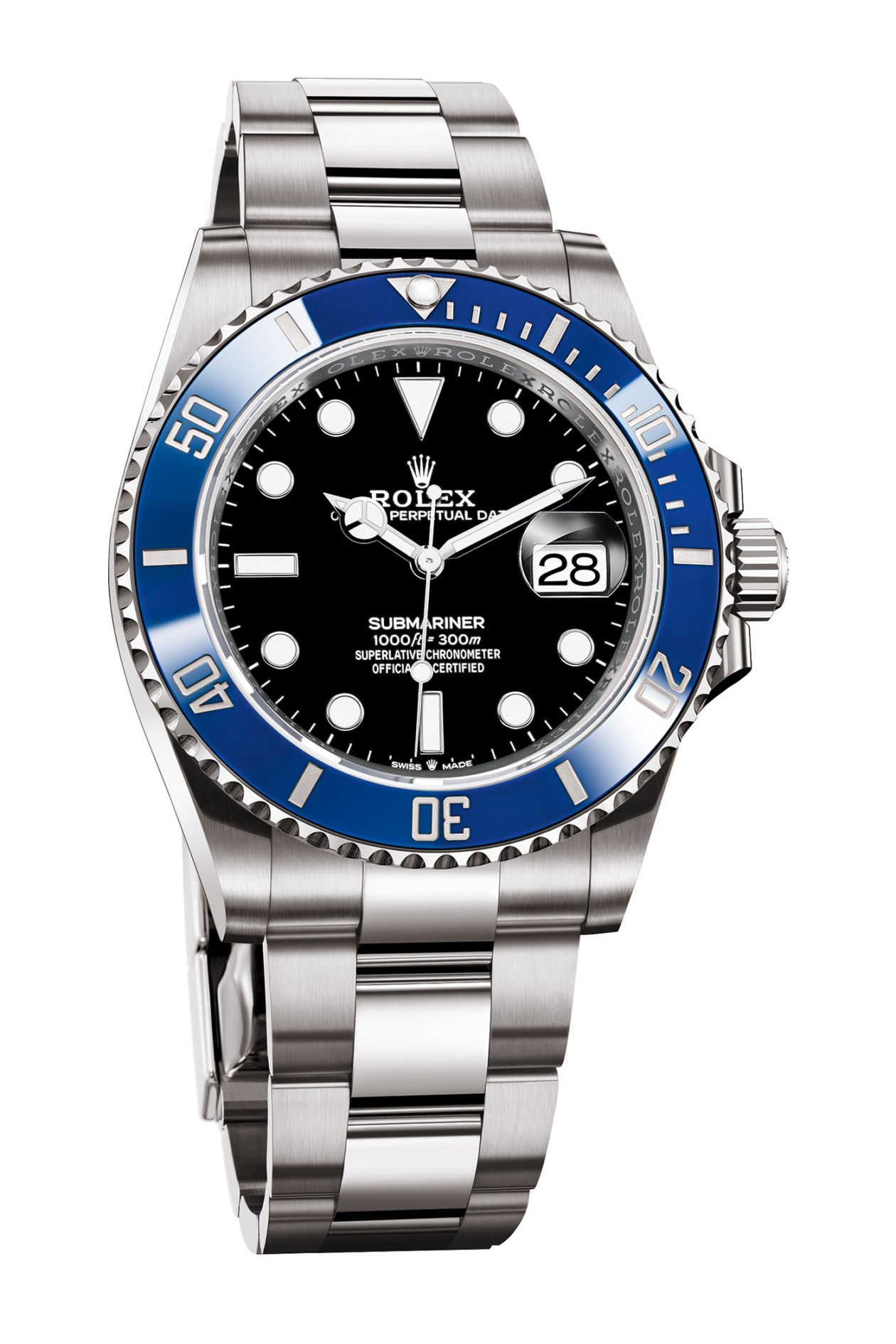 Rolex Oyster Perpetual Submariner 41 White Gold