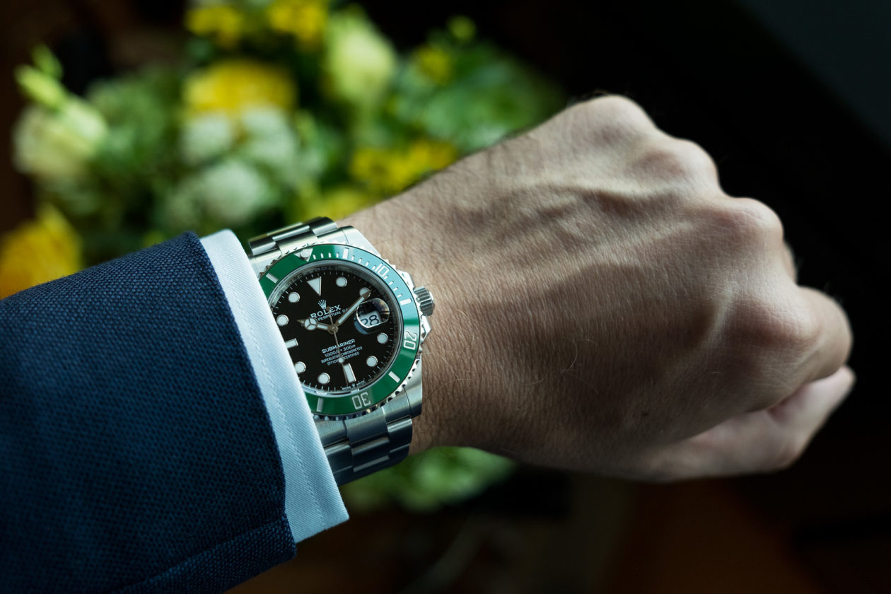 "Rolex Submariner Date 41mm ""Kermit"" Ref. 126610LV"