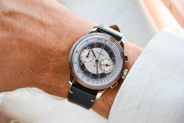 Longines Heritage Classic Tuxedo Chronograph
