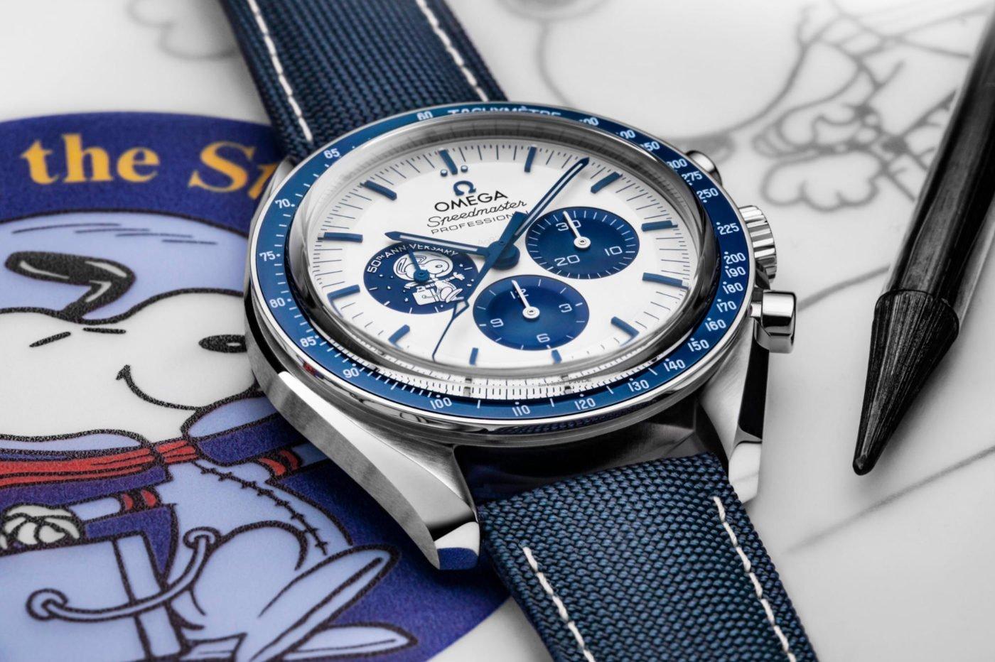 "Omega Speedmaster ""Silver Snoopy Award"" 50th Anniversary"