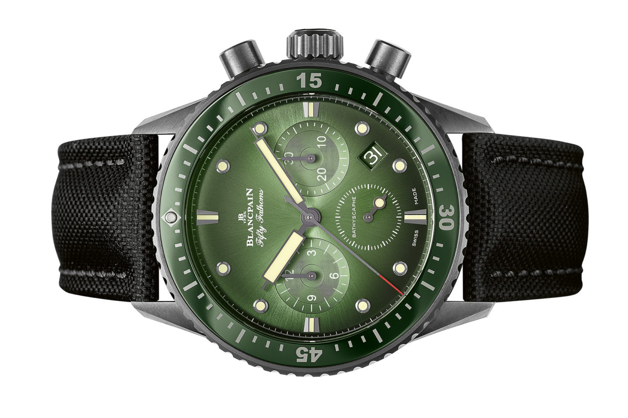 Blancpain Fifty Fathoms Bathyscaphe Chronograph Flyback