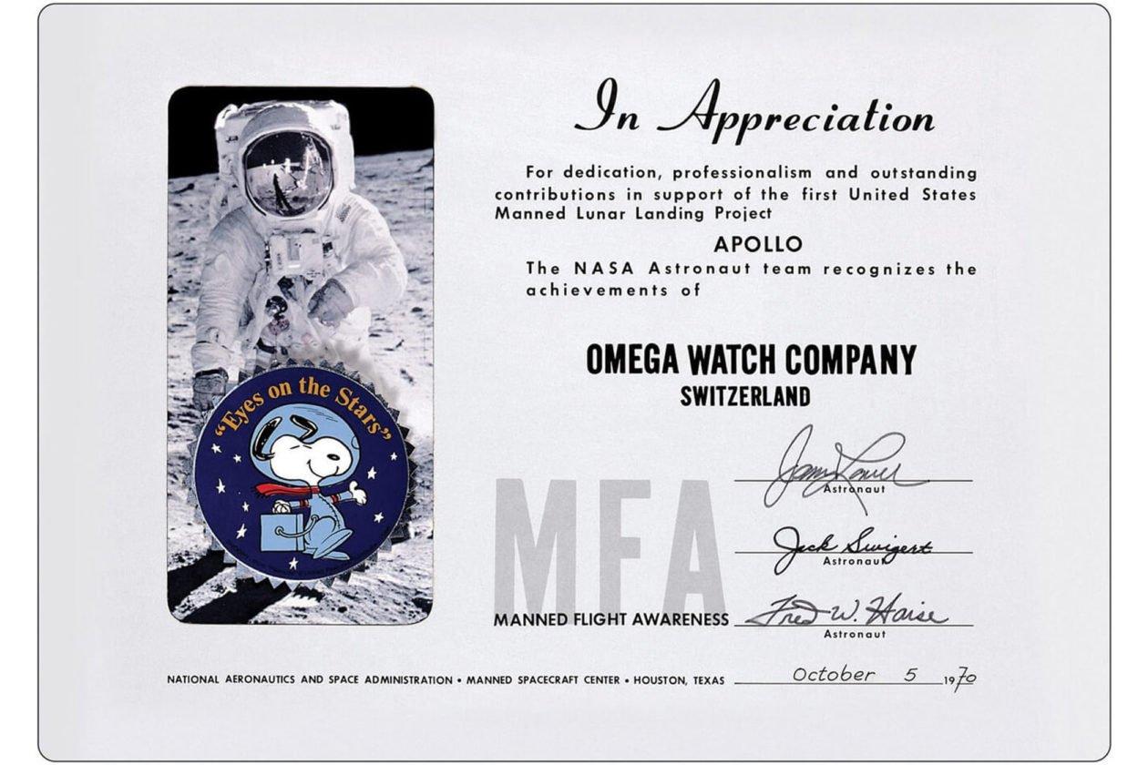 Silver Snoopy Award