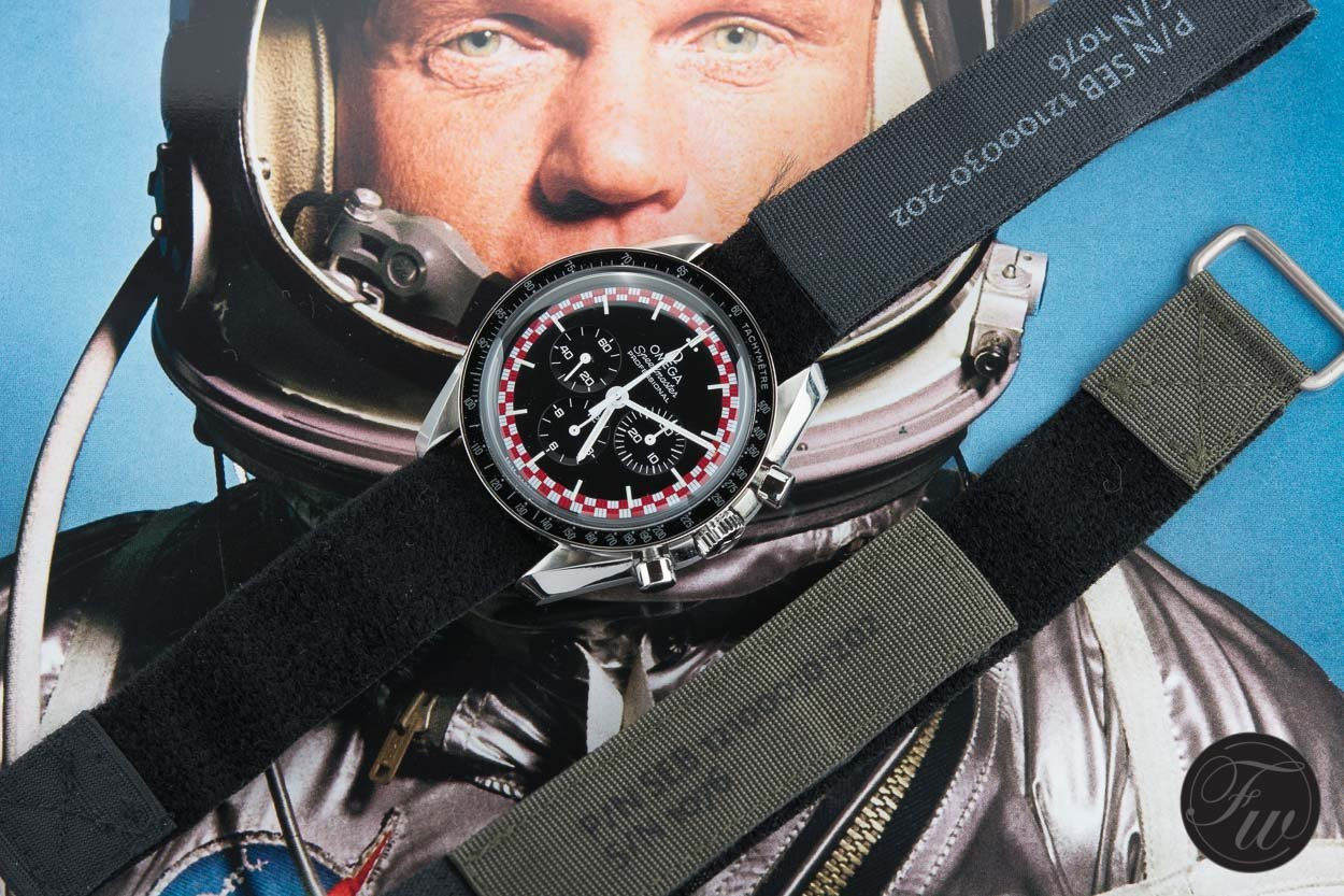 "Omega Speedmaster Professional ""Tintin"" / foto: Fratellowatches.com"