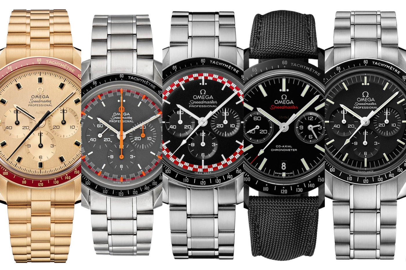 "TOP 5 Omega Speedmaster ""Moonwatch"""