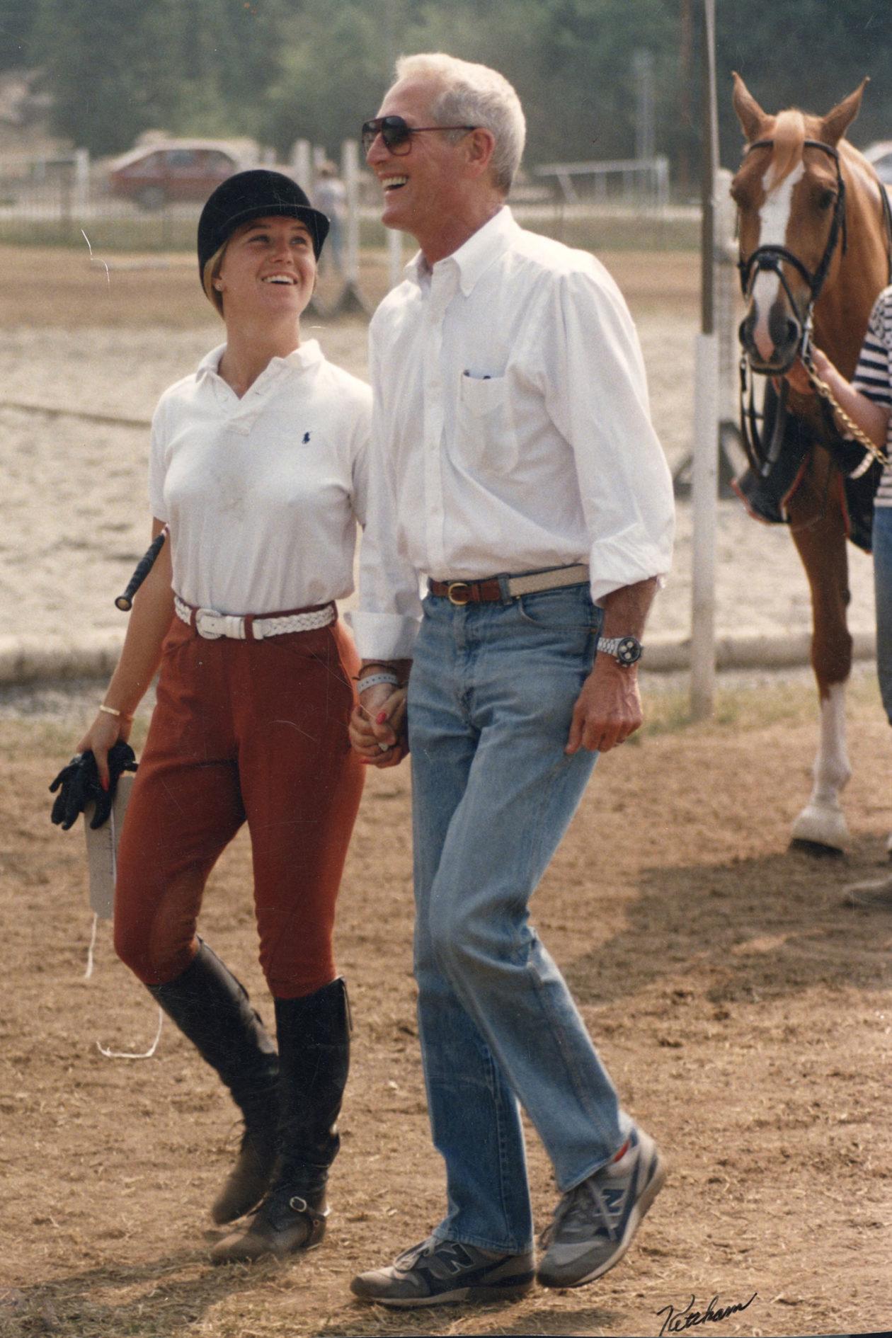 Clea Newman i Paul Newman, 1984