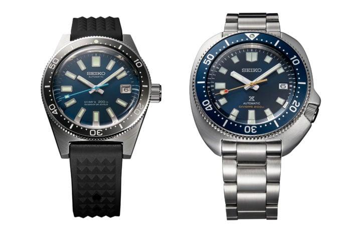 Seiko Prospex Diver's 55th Anniversary SLA043J1 i SPB183J1