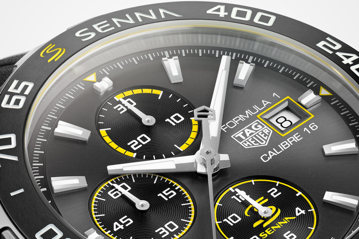 TAG Heuer Formula 1 Calibre 16 Ayrton Senna