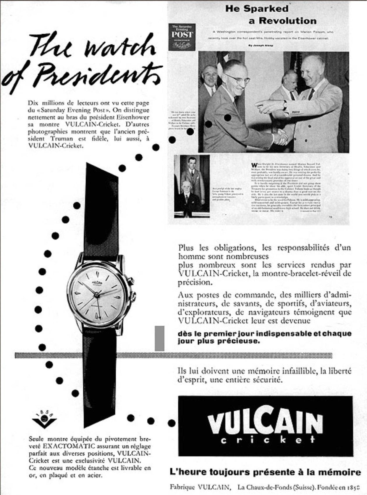 Vulcain / foto: watchtime.com