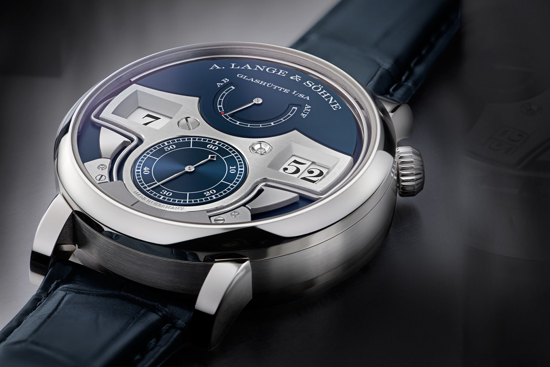 A. Lange & Söhne Zeitwerk Minute Repeater white gold