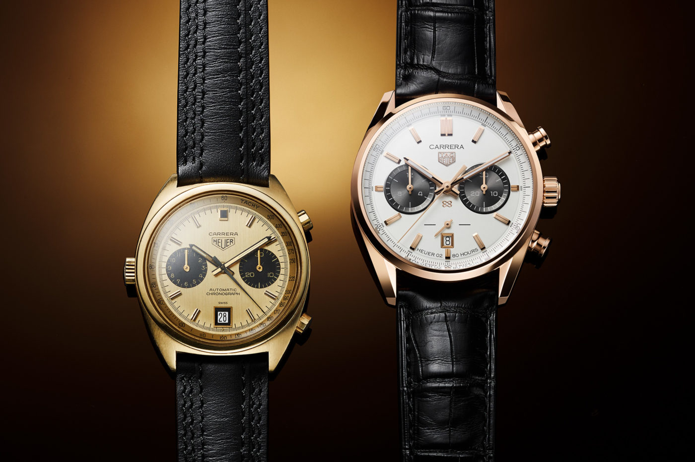 TAG Heuer Carrera Jack Heuer Birthday Gold LE