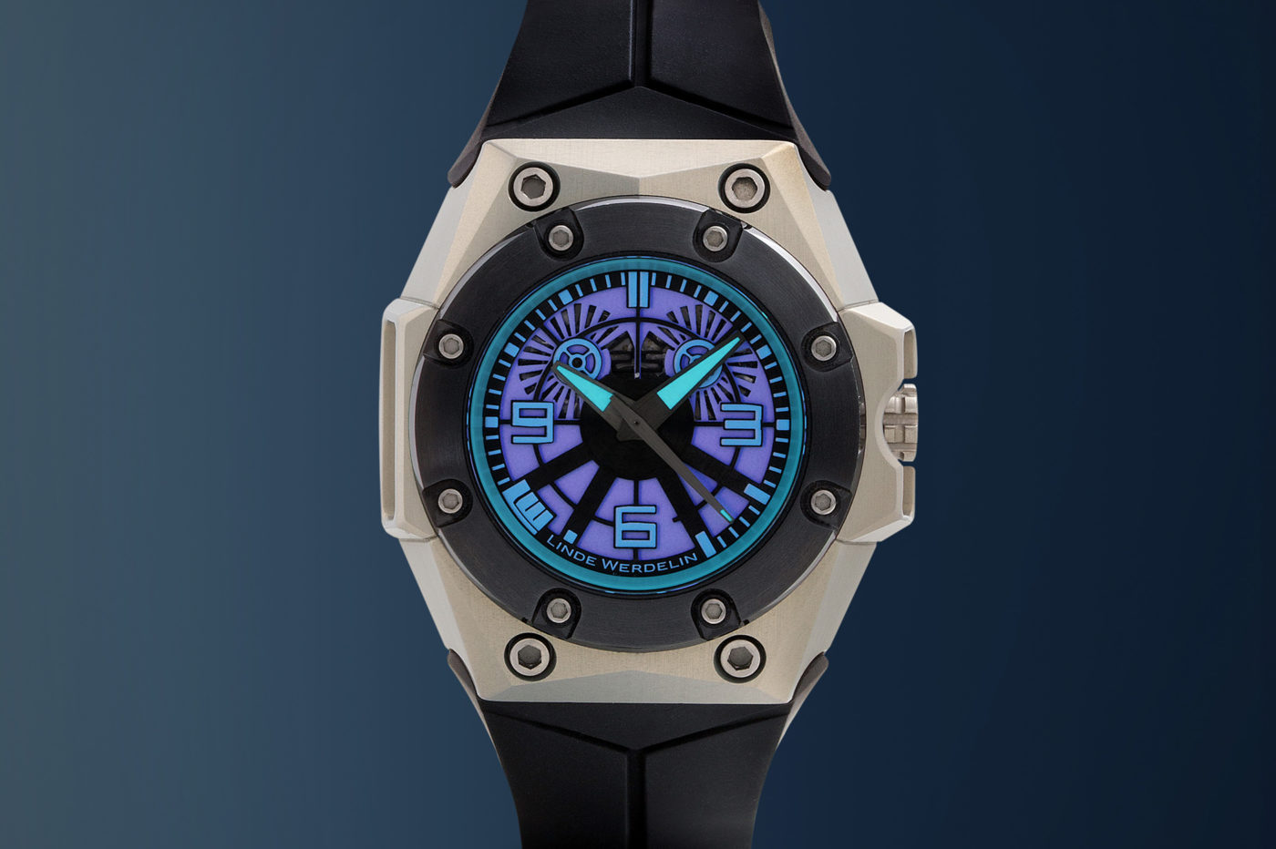 Linde Werdelin x Black Badger Oktopus Blue Sea
