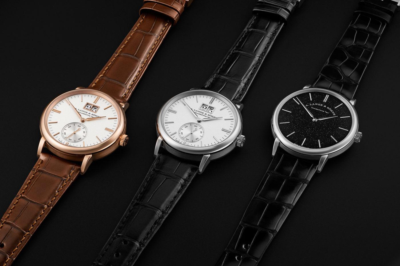 A. Lange & Söhne Saxonia Thin i Outsize Date w nowych wersjach [dostępność, cena]