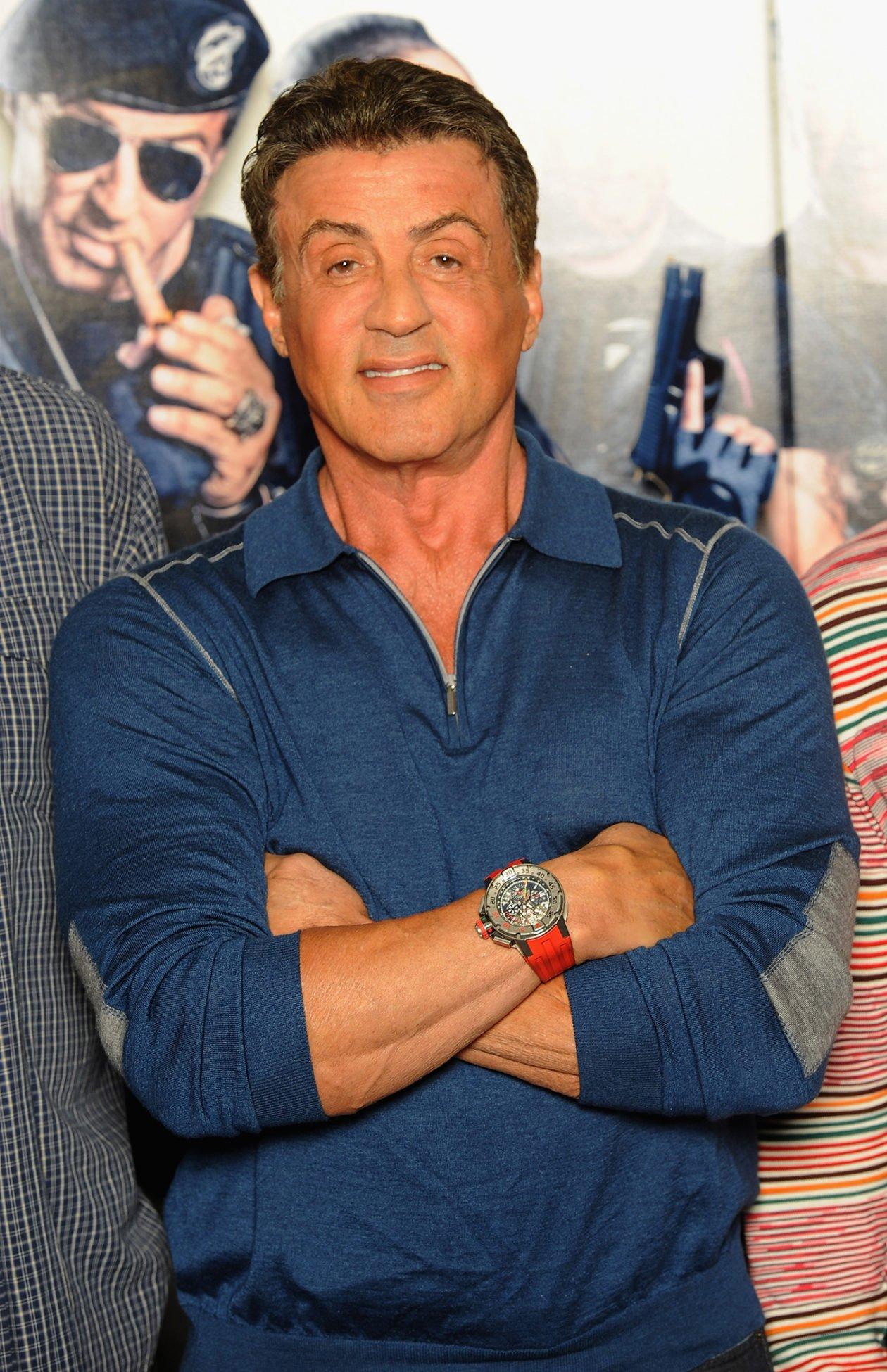 Sylvester Stallone i RM032