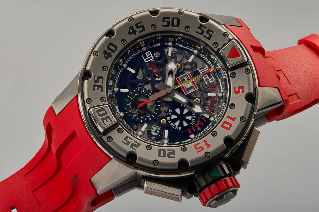 Richard Mille RM032 Automatic Winding Flyback Chronograph