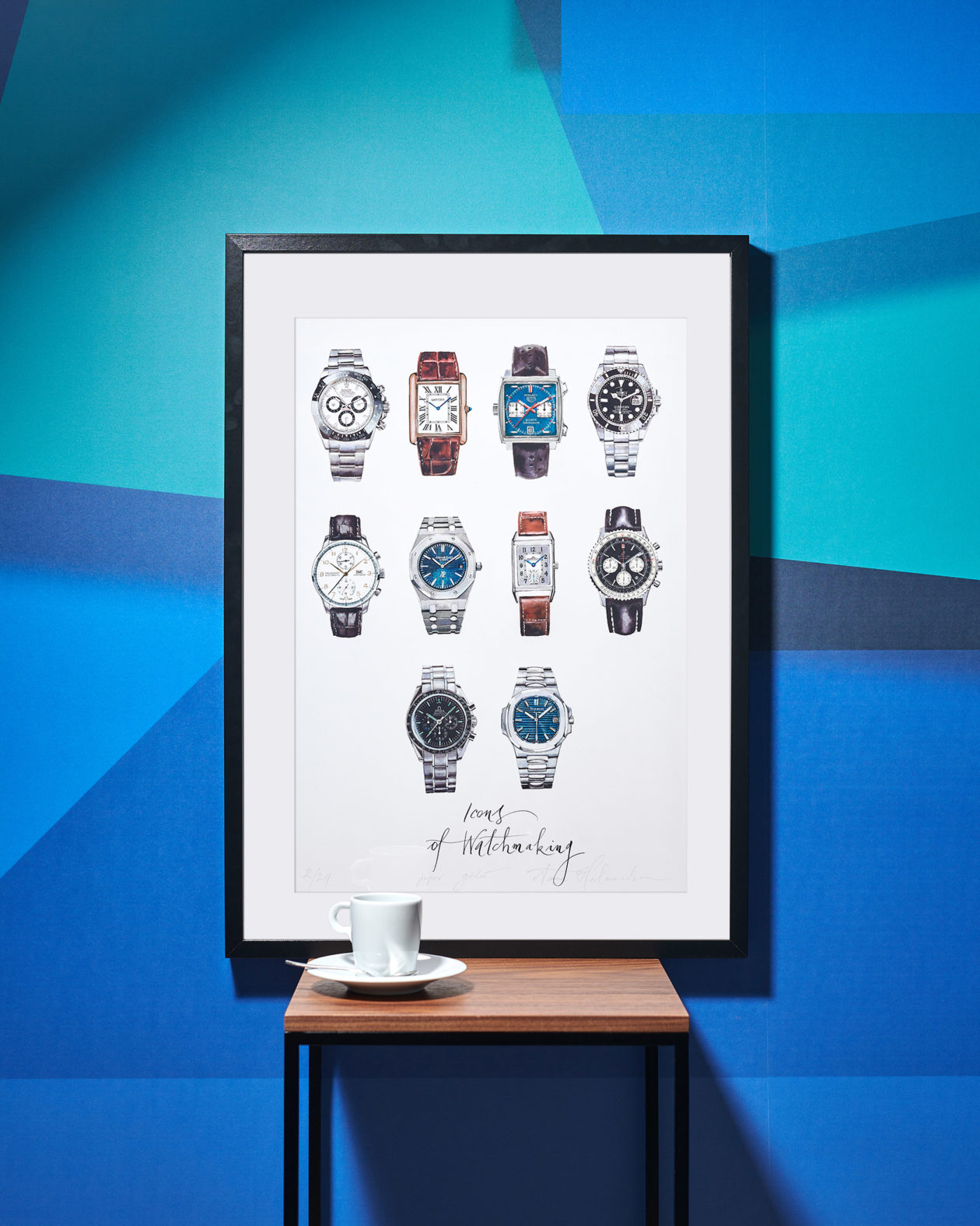 """Icons of Watchmaking"" by Anna Halarewicz"