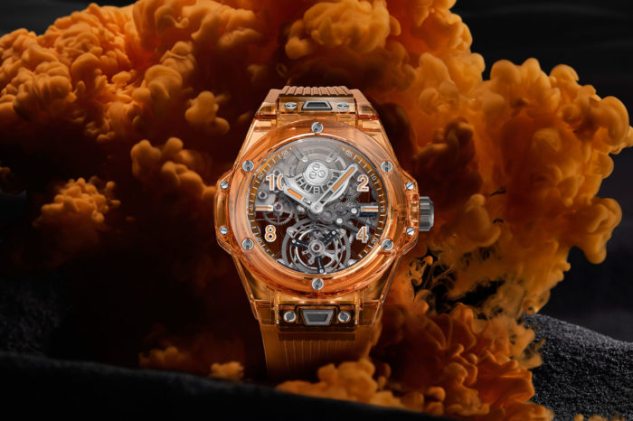 Hublot Big Bang Tourbillon Automatic Orange Sapphire