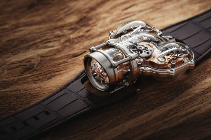 "MB&F HM9 ""Sapphire Vision"""