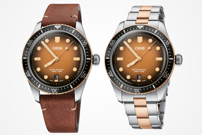 """Oris Divers Sixty-Five """"Sunset over the beach"""""""