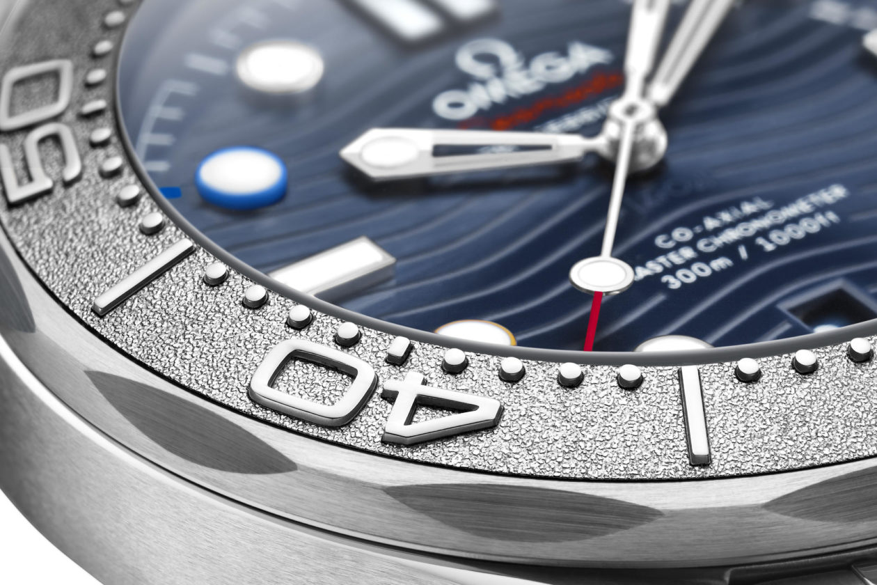 """Omega Seamaster Diver 300M """"Beijing 2022"""" Special Edition"""