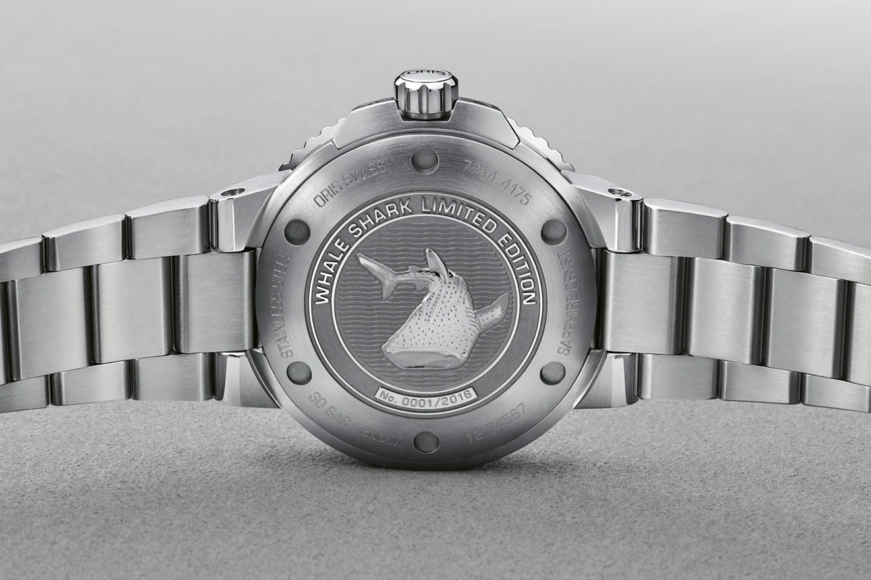 Oris Aquis GMT Whale Shark Limited Edition