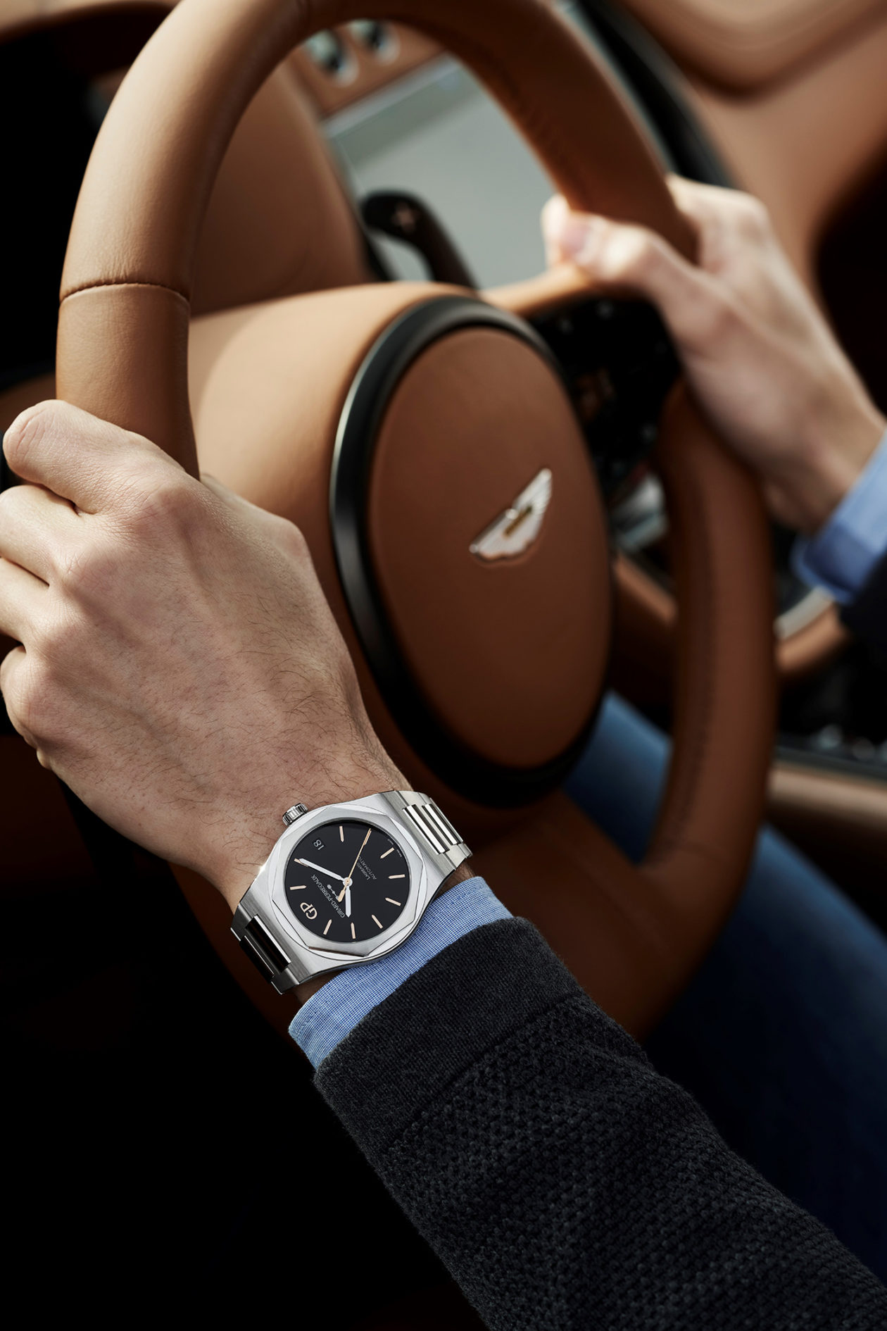 Girard-Perregaux i Aston Martin oficjalnymi partnerami