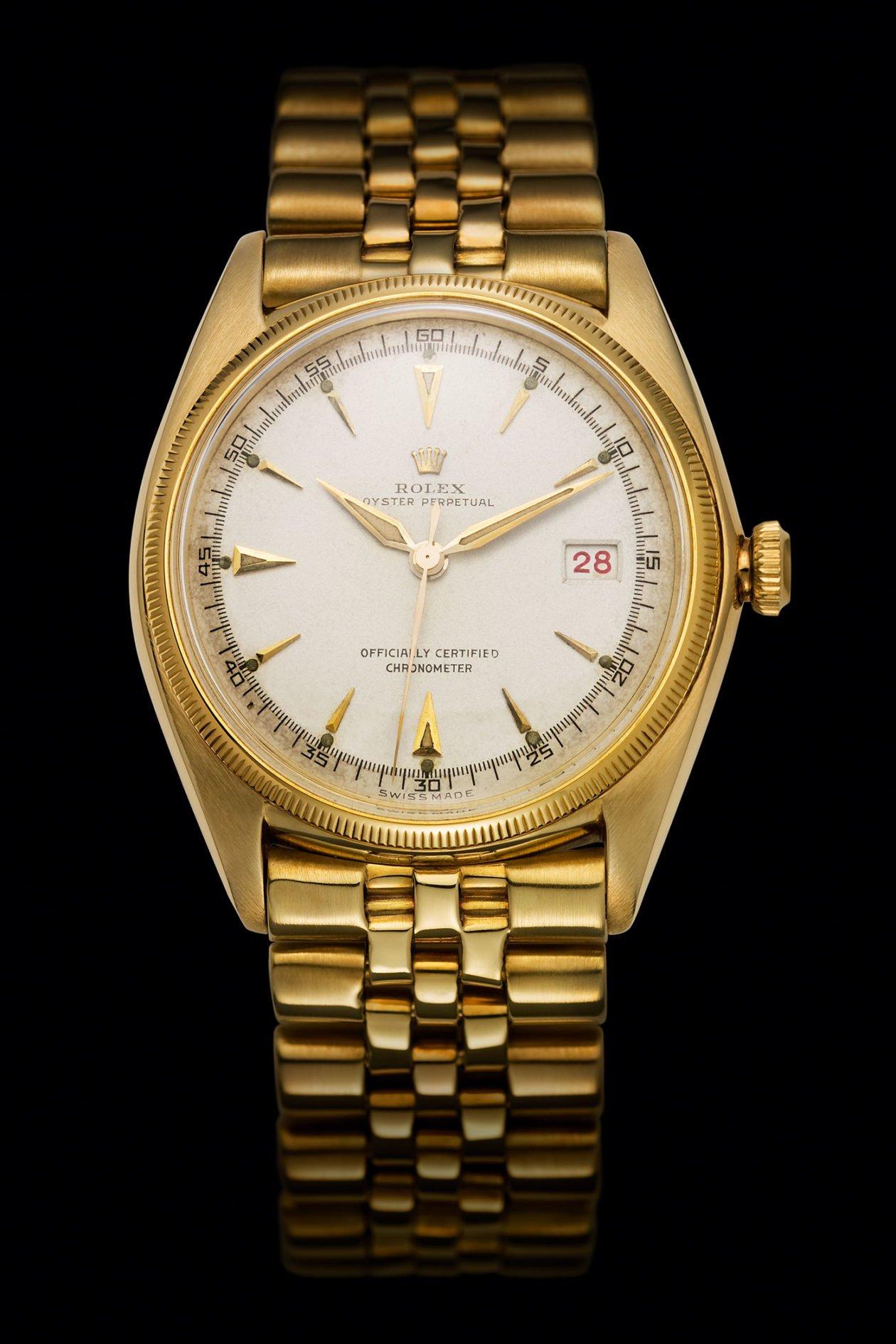 Pierwszy Rolex Datejust z 1945 roku