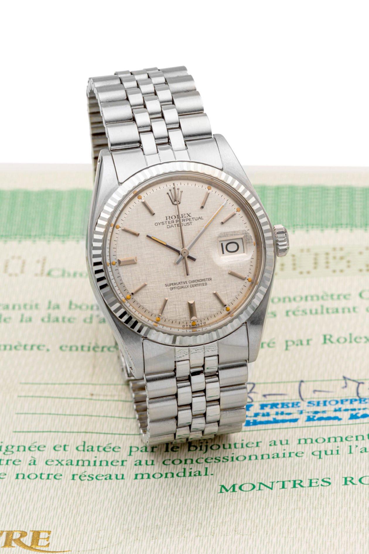 Rolex Datejust ref. 1601 / foto: Antiquorum
