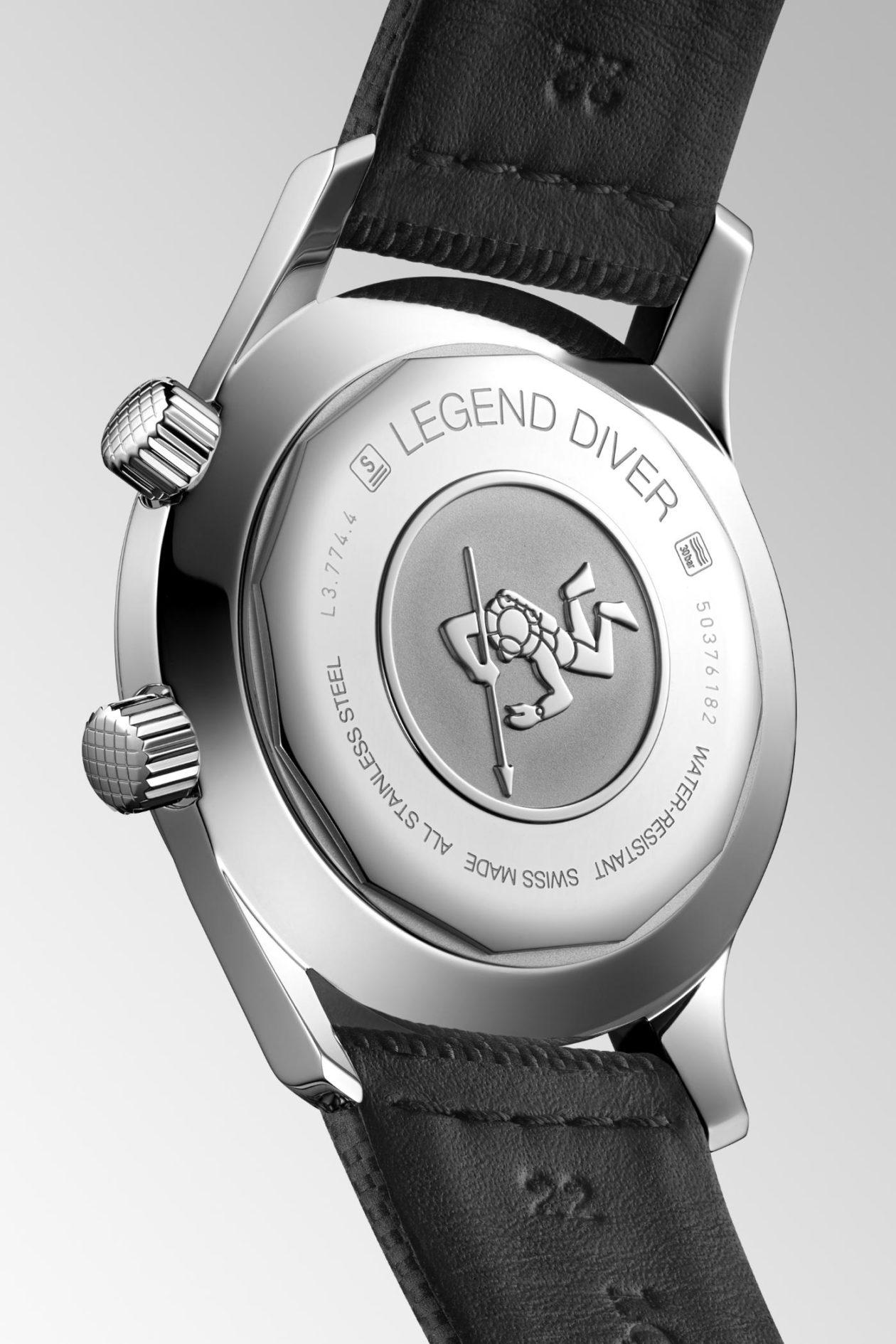Longines Legend Diver - dekiel