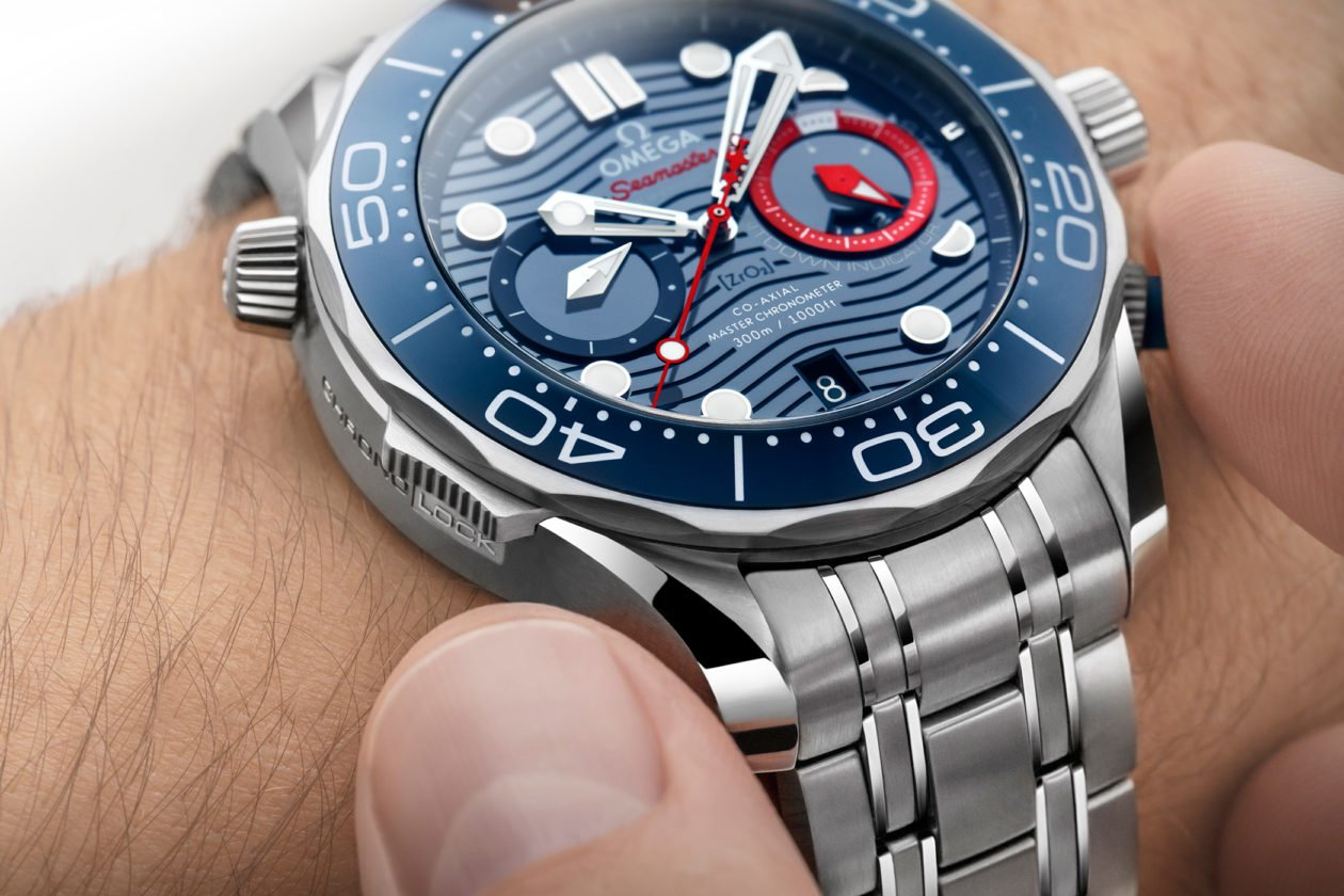 Omega Seamaster Diver 300M Chronograph America's Cup