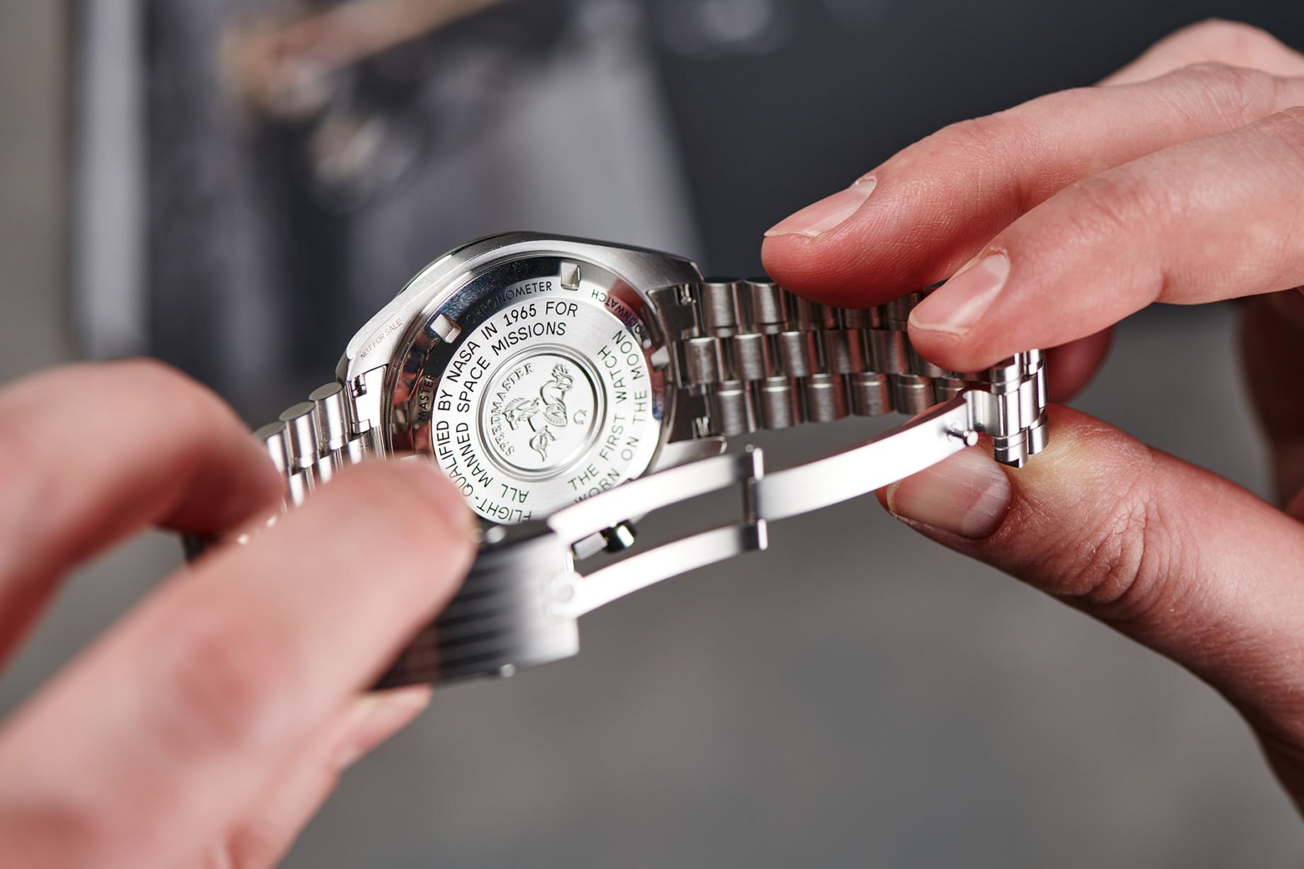 """Omega Speedmaster Professional """"Moonwatch"""" Co-Axial Master Chronometer Hesalite"""