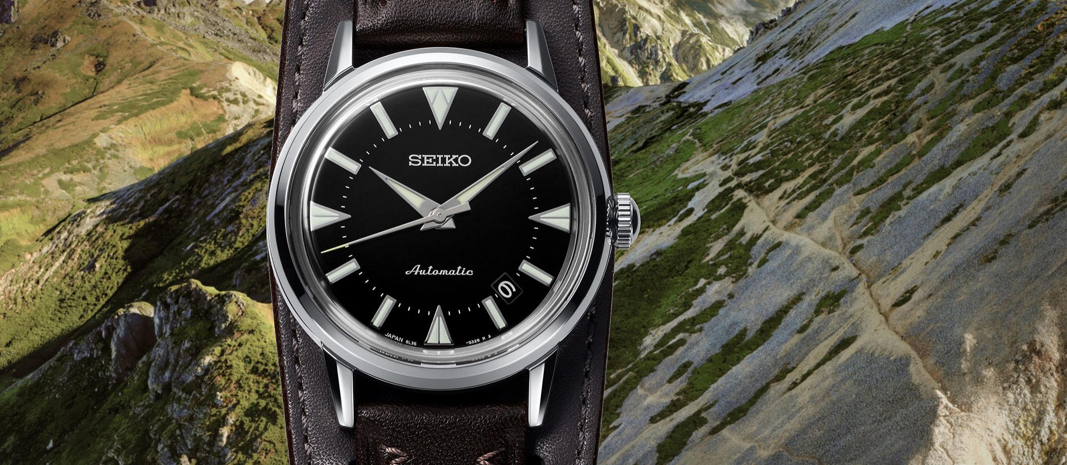 Seiko Prospex The 1959 Alpinist Re-creation