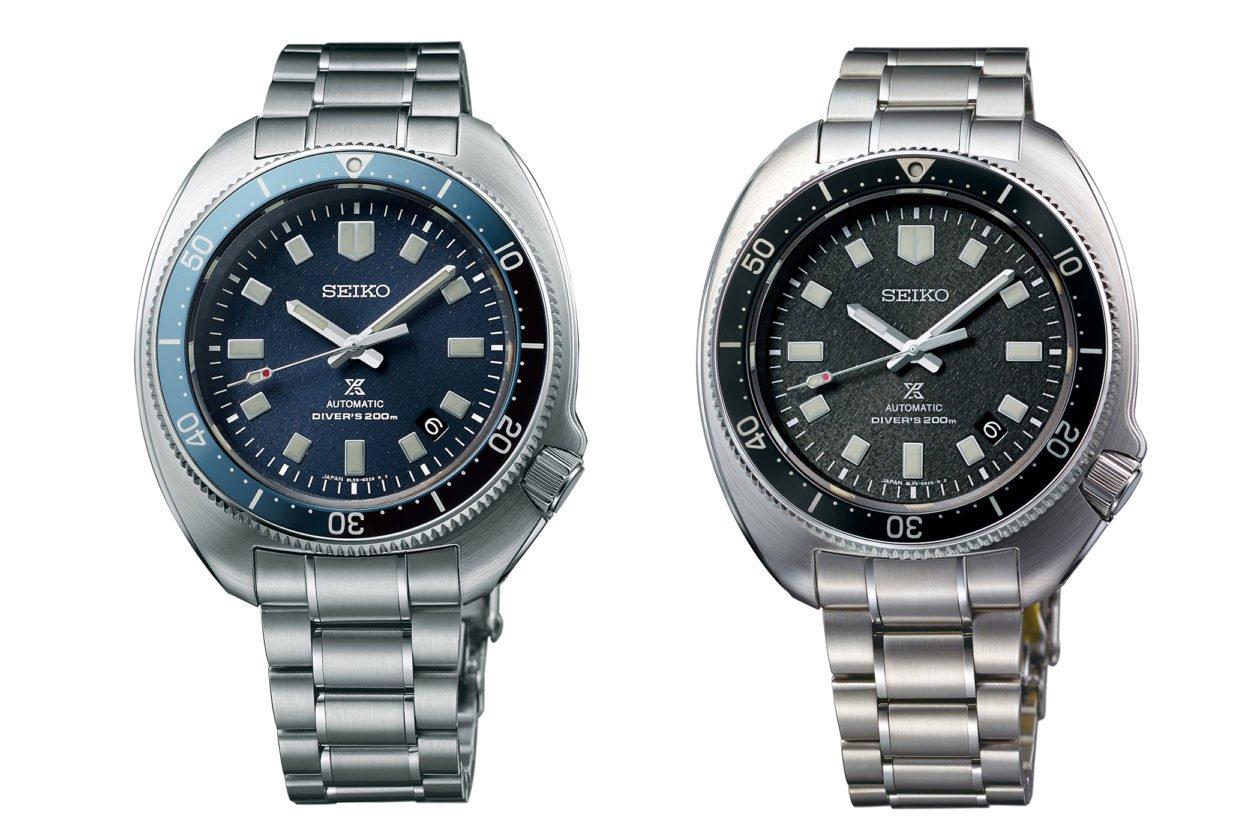 """Seiko Prospex 1970's Diver's SLA049 """"Naomi Uemura"""" (po lewej) i SLA051"""