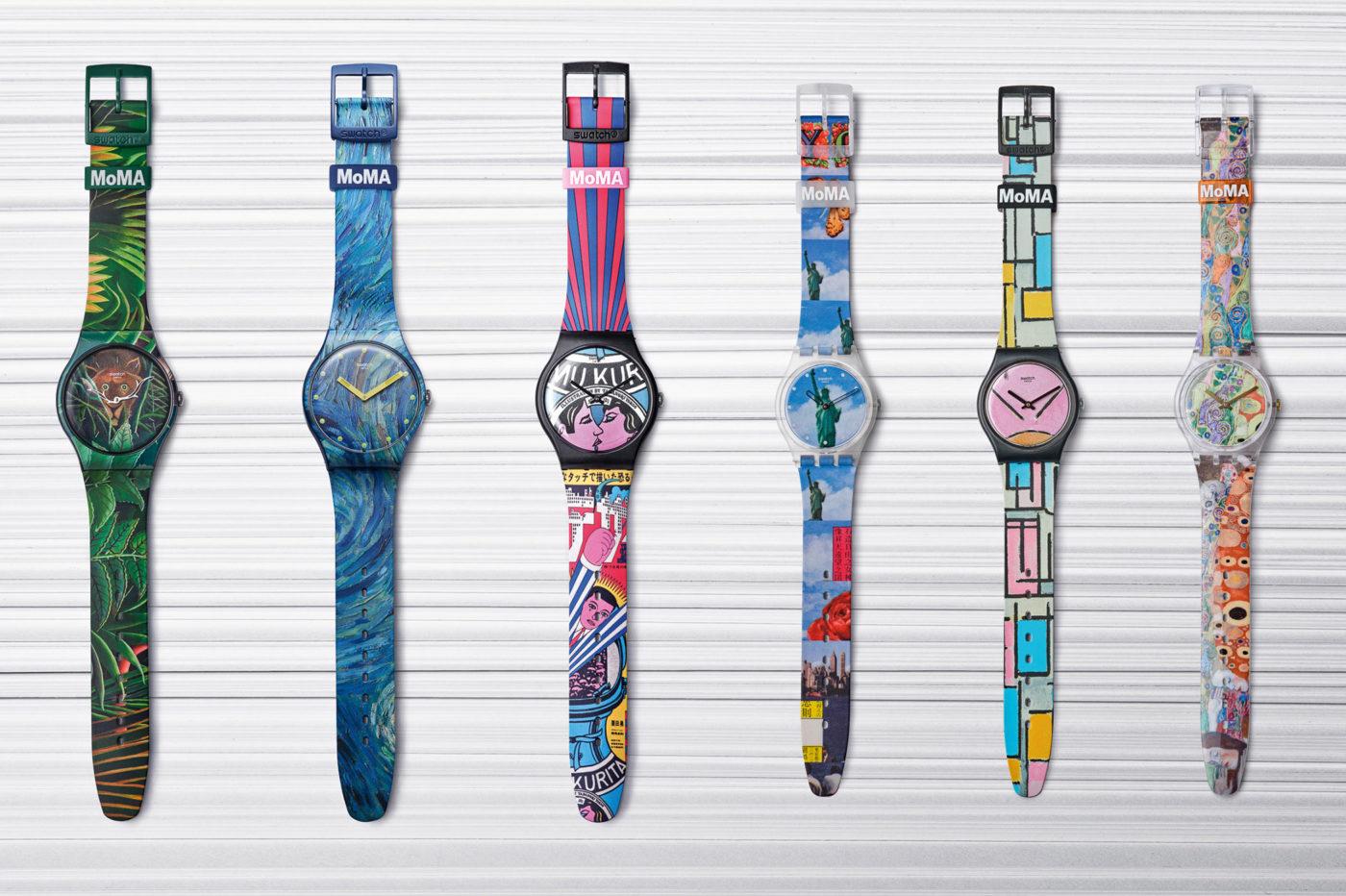 Swatch x MoMA – kolekcja zegarków inspirowana dziełami sztuki [dostępność cena]