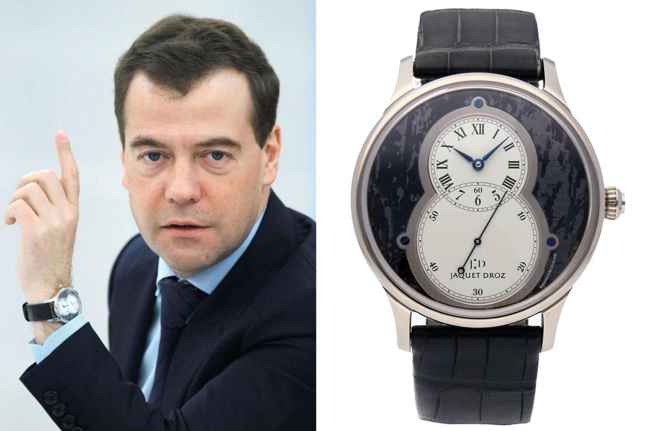 Jaquet Droz Grande Seconde / foto: insomi.ru / thewatchbox.com
