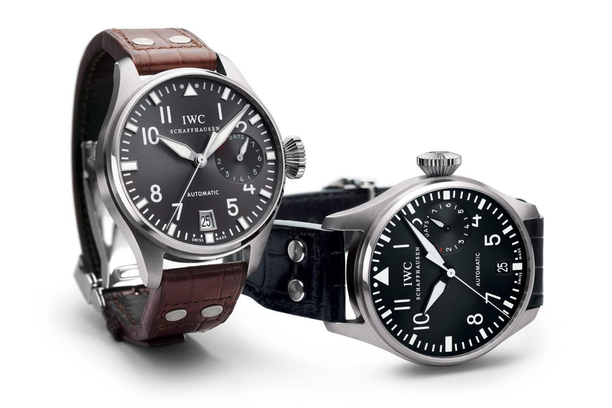Współczesne zegarki IWC Big Pilot's