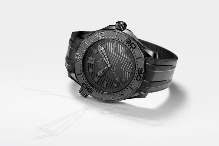 Omega Seamaster 300M Black Black